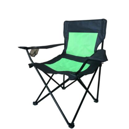 כסא  מתקפל עם ידיות כולל מתקן יעודי לאיחסון שתייה - חסר זמנית