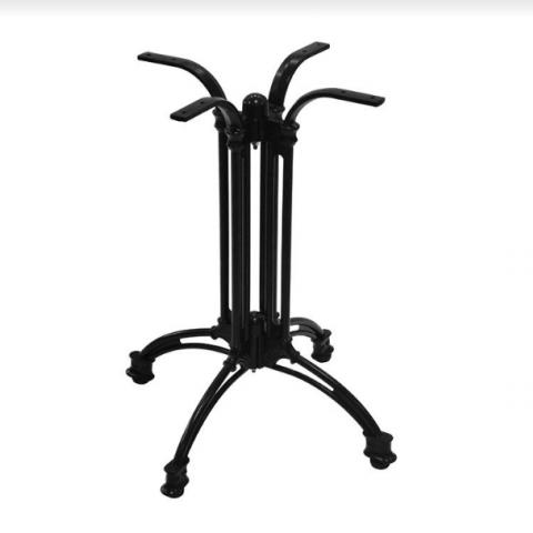 רגל מתכת דגם בולוניה 4 זרועות.
