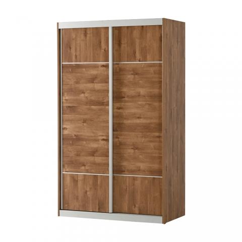 רהיטי יראון דגם 705 - ארון 2 דלתות הזזה מהודר. 2 מגירות פנימיות.