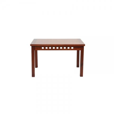 שולחן סלון דגם ברק 80 סמ על 120 סמ נפתח בצדדים עוד 100 סמ