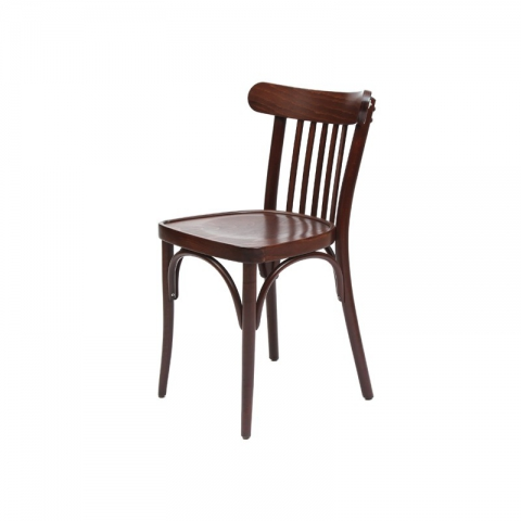 כיסא יבניאל מושב עץ בלבד