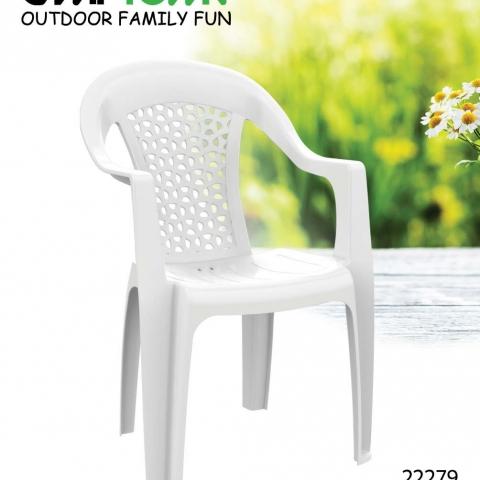 סט 4 כיסאות  פלסטיק דגם מאלמו