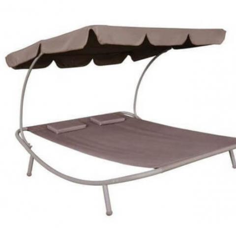 מיטת נוחות זוגית / מיטת שיזוף זוגית דגם