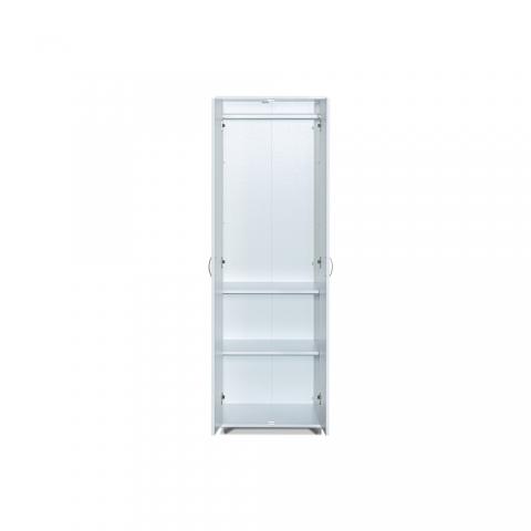 ארון 2 דלתות משולב תליה 602