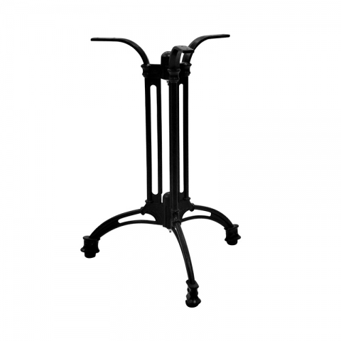 רגל מתכת לשולחן דגם בולוניה 3 זרועות