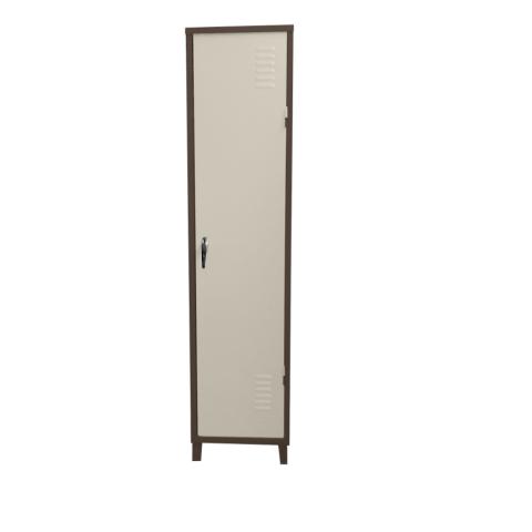 """ארון 1 דלת מתכת גובה – 193 ס""""מ רוחב – 45 ס""""מ עומק – 43 ס""""מ"""