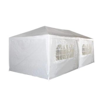 גזיבו אוהל לגינה 3X6 מטר ענק בשילוב וילונות דגם קארין מבית H.KLEIN